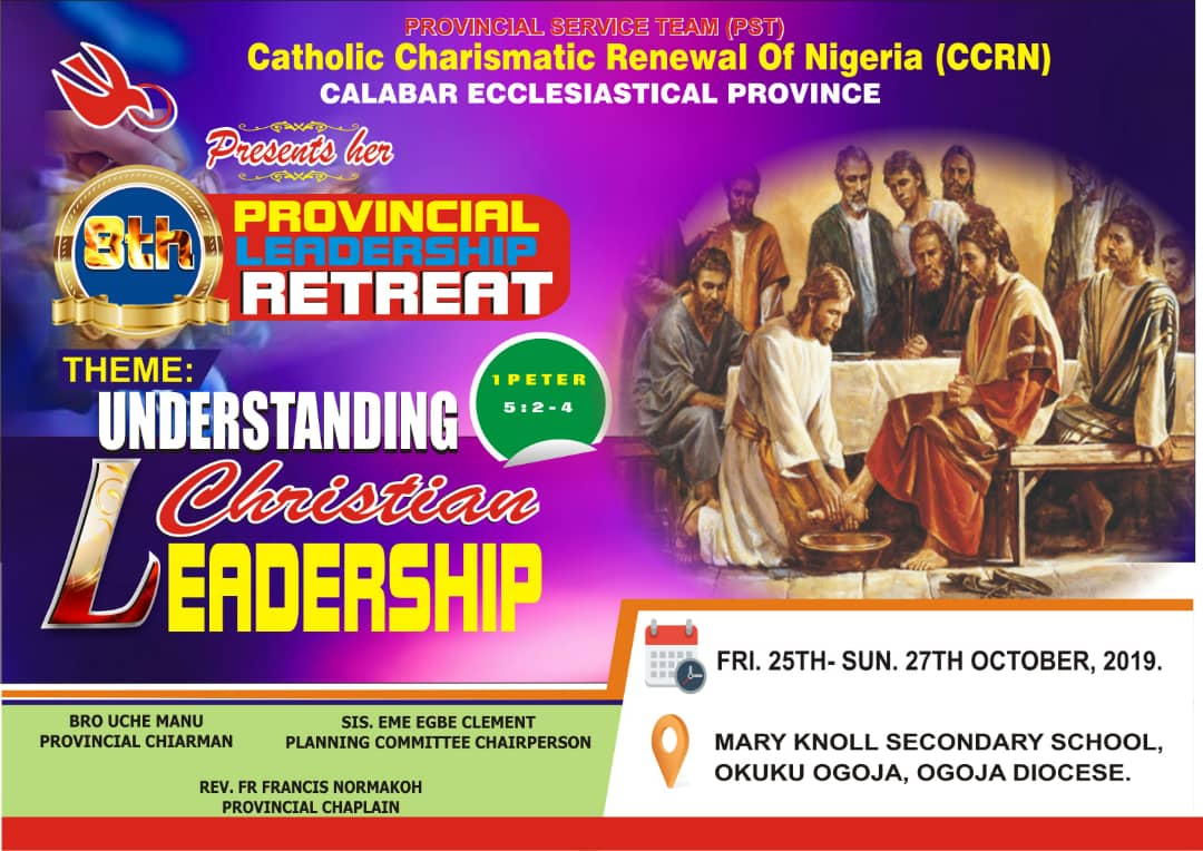 8th Calaber Provincial Retreat