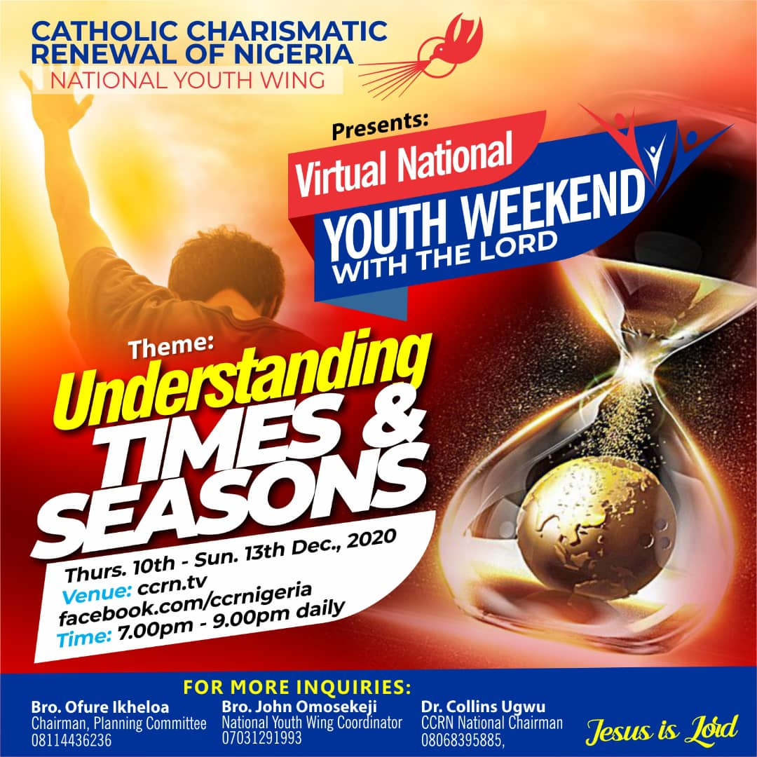 Virtual National Youth Weekend with the Lord